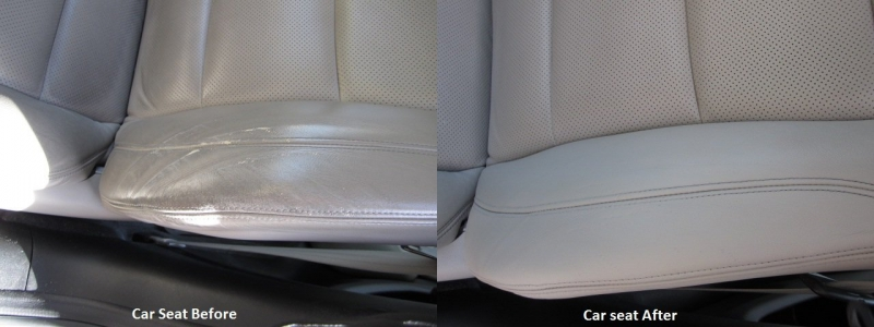Cracks in Leather Car Seat, Hayward, CA