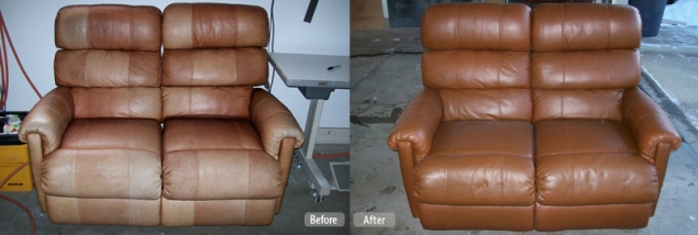 Leather Furniture Re-Dye