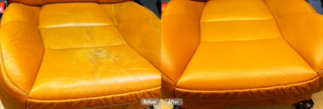Car Leather Seat Repair