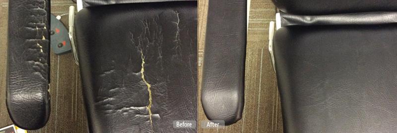 Vinyl Upholstery Restoration