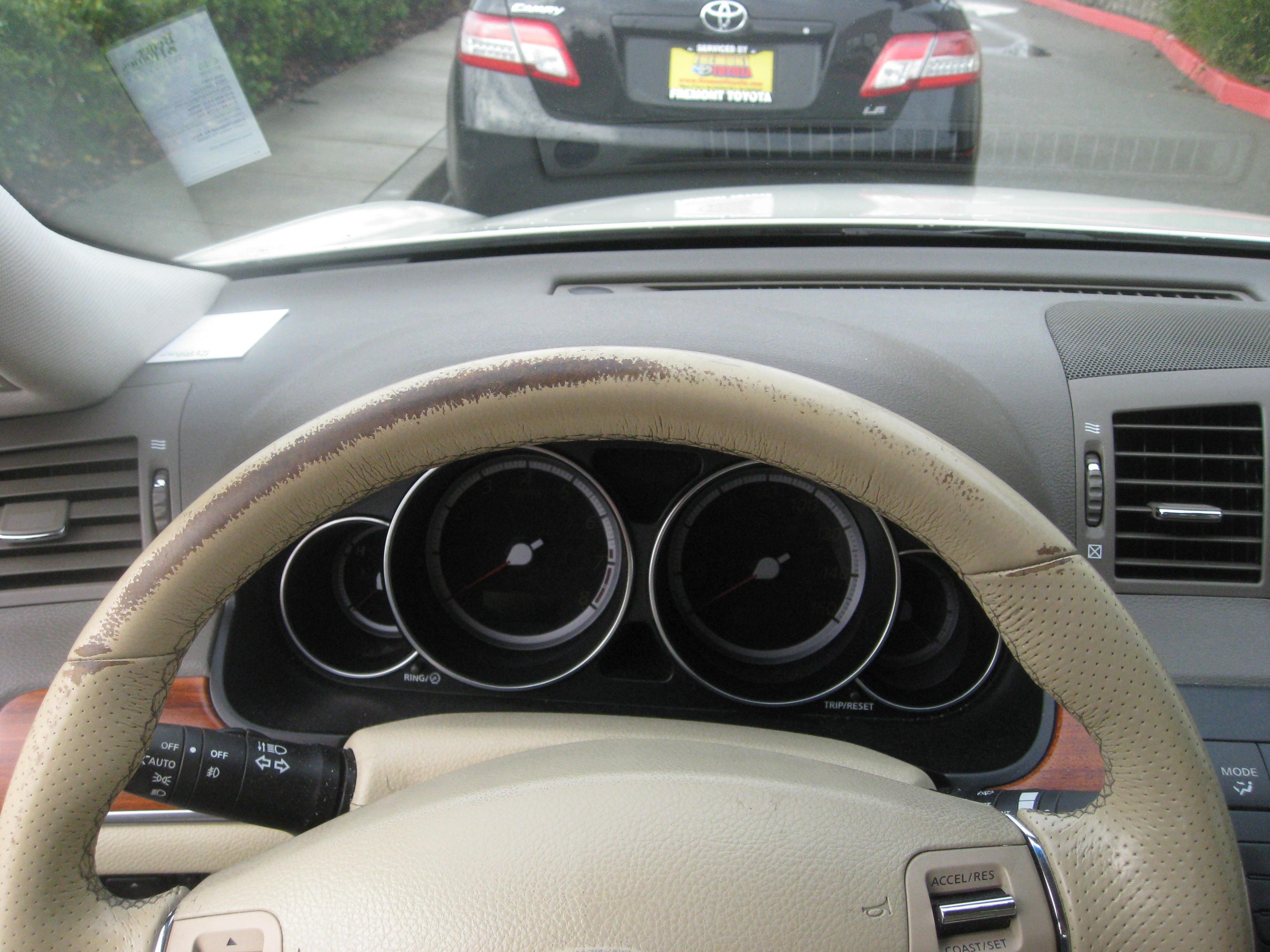 Steering Wheel Re Dye Castro Valley Ca Fibrenew Bay Area