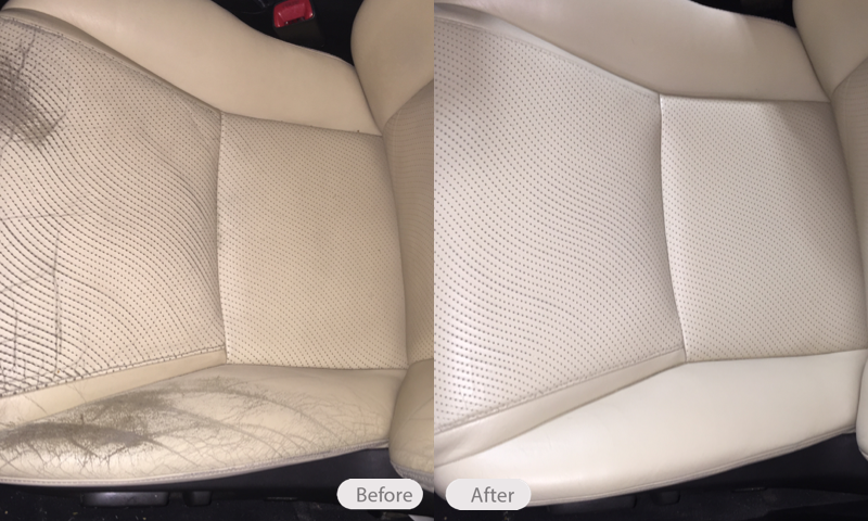 Photo Lexus Leather Seat Repair Fibrenew Boulder Golden