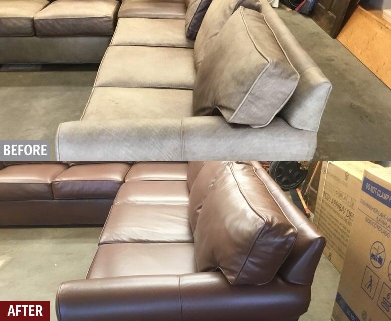 Leather Couch Sofa Repair Fibrenew, Ethan Allen Furniture Repair