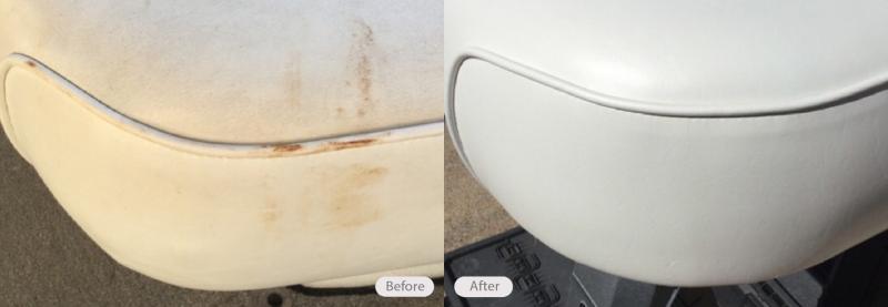 Boat Seat Repair - Plastic Molding Restoration - Fibrenew   Fibrenew