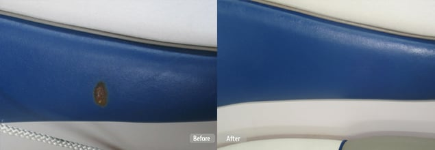 Boat Seat Restoration