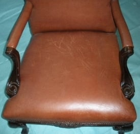Remarkable How To Prevent Scratches And Repair Scratched Leather Squirreltailoven Fun Painted Chair Ideas Images Squirreltailovenorg