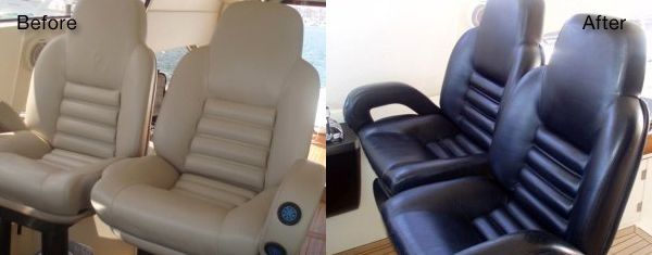Boat And Yacht Seat Repair And Restoration Fibrenew
