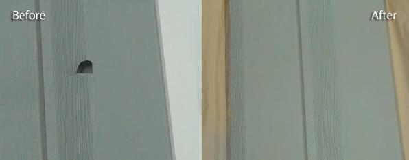 Vinyl windows vinyl window hail damage for Hail damage vinyl siding