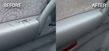 cracked car door armrest repairs