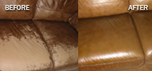 damaged leather furniture repair