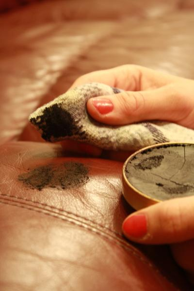 Do Not Use Shoe Polish On Leather Upholstery Fibrenew