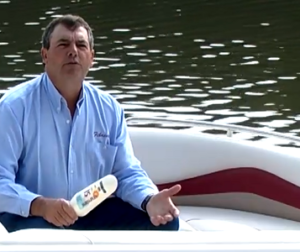 Sunscreen and oil make boat seats get worn faster