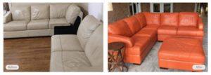 leather sofa re-dye