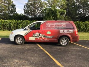 Fibrenew Sterling Heights Franchise Vehicle