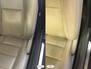 car seat restored