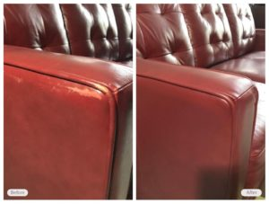 leather seat restoration