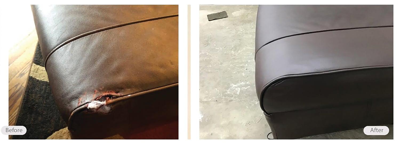 leather seat seam repair