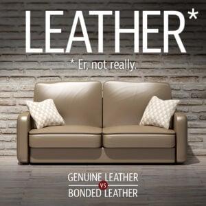 Bonded Leather vs. Genuine Leather