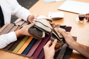 Selecting Leather Grain