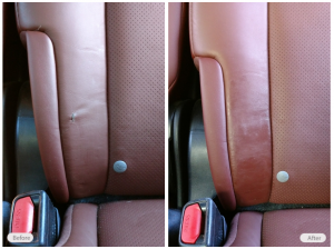 Automotive Seat Restoration by Fibrenew Asheville