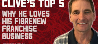 Clive's Top 5: Why He Loves His Fibrenew Franchise Business