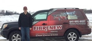 fibrenew mobile franchise vehicle
