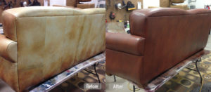 Leather Couch Re-dye