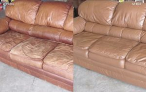 Edmonton Leather Furniture Restoration Service