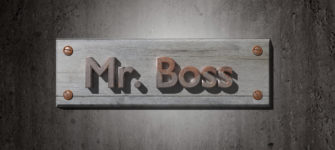 Freedom To Be His Own Boss
