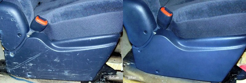Blue Car Seat Base Repair