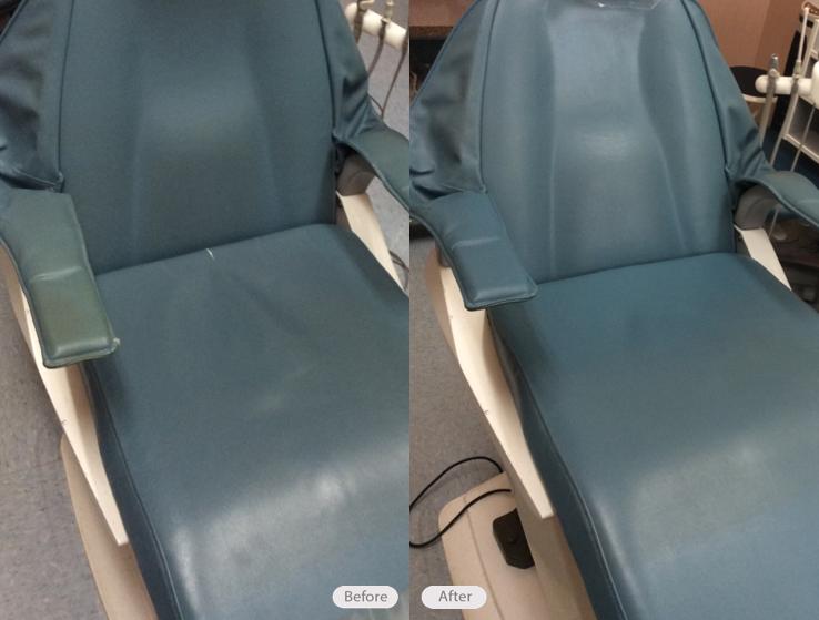 Photo Vinyl Dental Chair Repair Fibrenew Of Halifax Fl