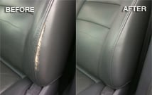Damaged Leather Car Seat Repair
