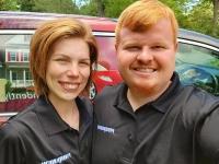 Chelsey and Robert Pegram