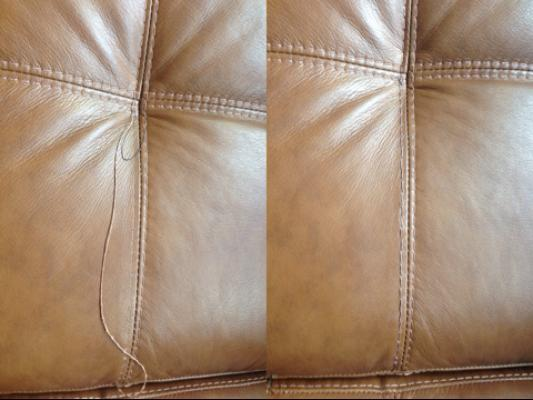Leather Sofa Stitching Repair Hereo