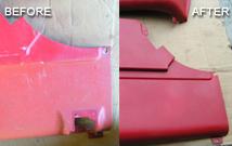 vinyl and fiber restoration