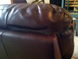 how to fix a tear in leather