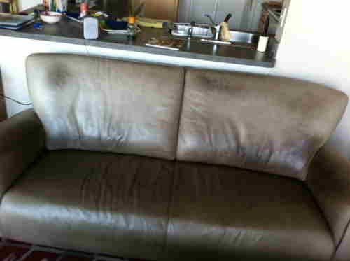 Leather Sofa Re Dye Fibrenew South Austin