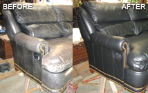 leather vinyl upholstery repair fibrenew st louis sw. Black Bedroom Furniture Sets. Home Design Ideas