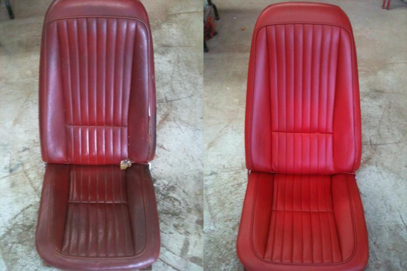 Photo Corvette Car Seats