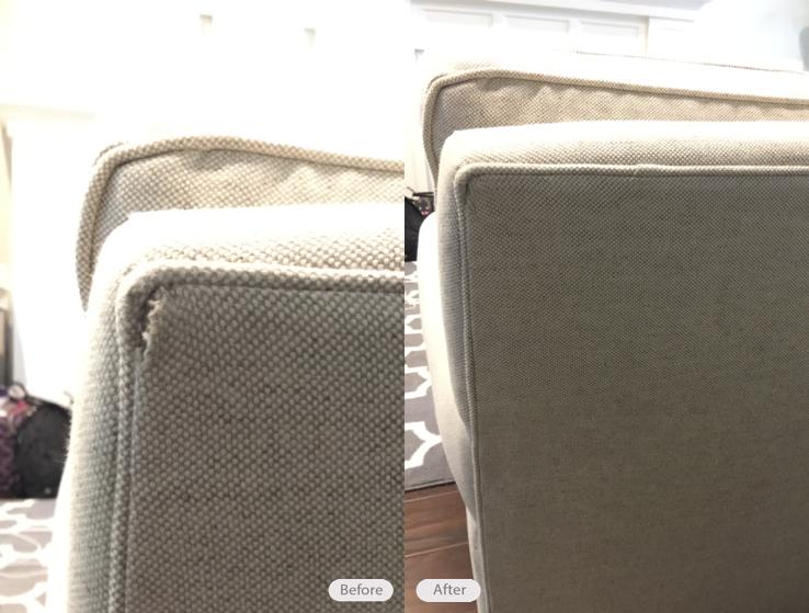 Attrayant Fabric Upholstery Sofa Tear Repair In Tampa Florida 33611