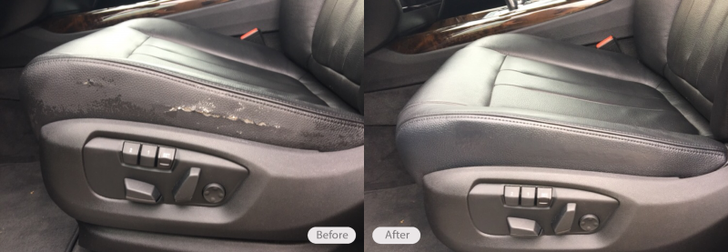 Photo Bmw X5 Vinyl Side Seat Bolster Repair Due To