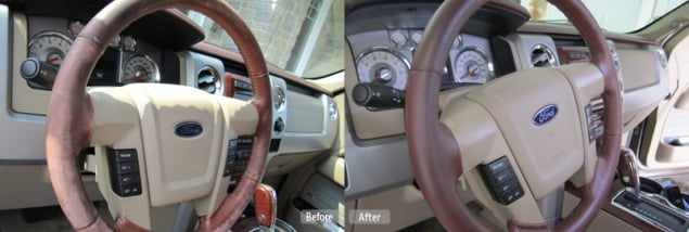 car leather repair plastic vinyl restoration fibrenew fibrenew tampa. Black Bedroom Furniture Sets. Home Design Ideas