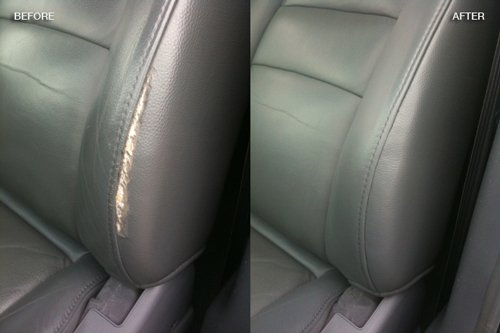 Leather vinyl upholstery repair fibrenew tampa Car interior ceiling fabric repair