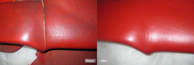 Cracked Dashboard Repair