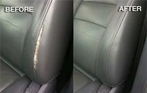 Damaged Leather Car Seat Repair