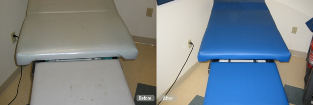 Medical Examination Tables Amp Chairs Vinyl Repair Service