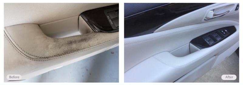Automotive Leather Restoration Vinyl & Plastic Repair