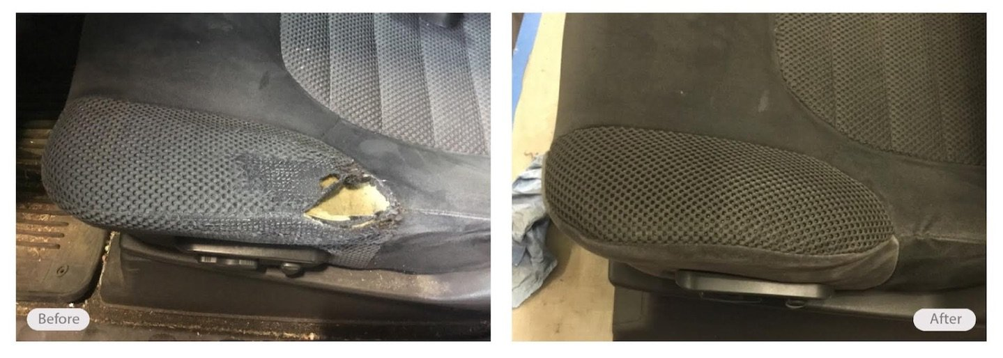 Automotive Leather Restoration Vinyl Plastic Repair