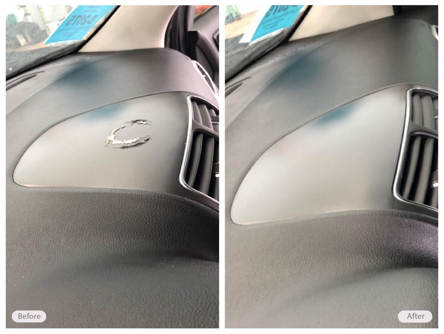 Automotive Leather Restoration Vinyl & Plastic Repair
