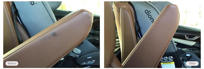 Vehicle armrest restoration